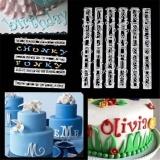 Baking Accs. & Cake Decorating Alphabet Number Letter Fondant Cake Decoration Set Cutter Mould Set Cake Mould