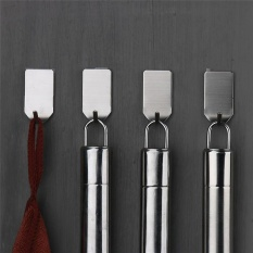 8 Pieces /Set Stainless Steel 3M Self Adhesive Sticky Hooks Wall Storage Hanger New Home