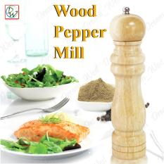 8.2 Wooden Pepper Mill Grinder Wooden Pepper Salt Spice Mill Grinder Grinding Portable Kitchen Utensils (brown) By Dreamwest Corporation