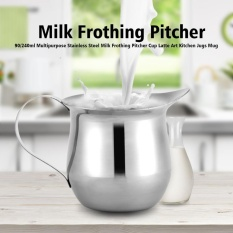90ml Multipurpose Stainless Steel Milk Frothing Pitcher Cup Latte Art Kitchen Jugs Mug - Intl By Highfly.