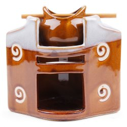 A2194 Candle Burner (Brown)