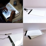 Apparel Sewing & Fabric Imported From Abroad Digital A5 Copy Board Graphic Tablet For Drawing Sign Display Panel Luminous Stencil Graphic Artist Thin Art Drawing Board Light