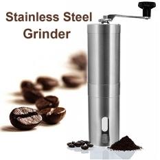 Adjustable Stainless Steel Coffee Bean Grinder Hand Grinding Tool Ceramic Manual - intl