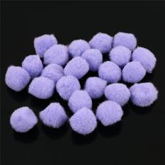 Ai Home 50pcs DIY Pompom Plush Balls 20mm Fur Balls Wedding Home Decoration Sewing Crafts (