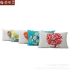 ALEVIN-Fashion Classical Sofa Seat Cushion Cover Decorative Throw Pillow Cover Case C - Multicolor