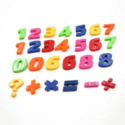 Amango Colorful Letters and Numbers Fridge Magnet Set