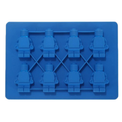 Amango Jelly Candy Silicone Mold Jelly Candy Tray (Blue)