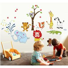 Animal Park Wall Stickers, Childrenu0027s Room Decorative Wall Stickers