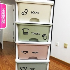 Clothes Compartmental Posted Closet Clothing Store Removable Wall Stickers Waterproof Wall Sticker Bedroom Baby Room Posted