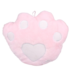 Bear's Paw Shape Lovely Romantic Hold Pillow