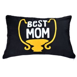 Best Mom Pillow (Black)