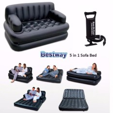 The cheapest price Bestway 5 in 1 Inflatable Sofa Air Bed Couch FREE