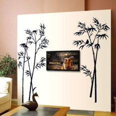 Black Bamboo Wall Sticker Paper Home Decal Removable Living DinningRoom  Bedroom Kitchen Art Picture Murals Girls