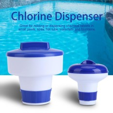 Blue And White Swimming Pool Spa Floating Chlorine Bromine Chemical Dispenser S - Intl By Sweetbaby123.