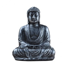 BolehDeals BUDDHA STATUE Hand-painted Resin Hindu Tribal God Meditation Buddha Ornament - intl
