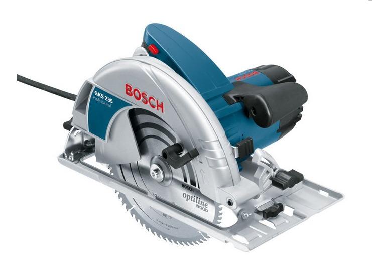 """Bosch GKS 235 9"""" Circular Saw (Blue)"""