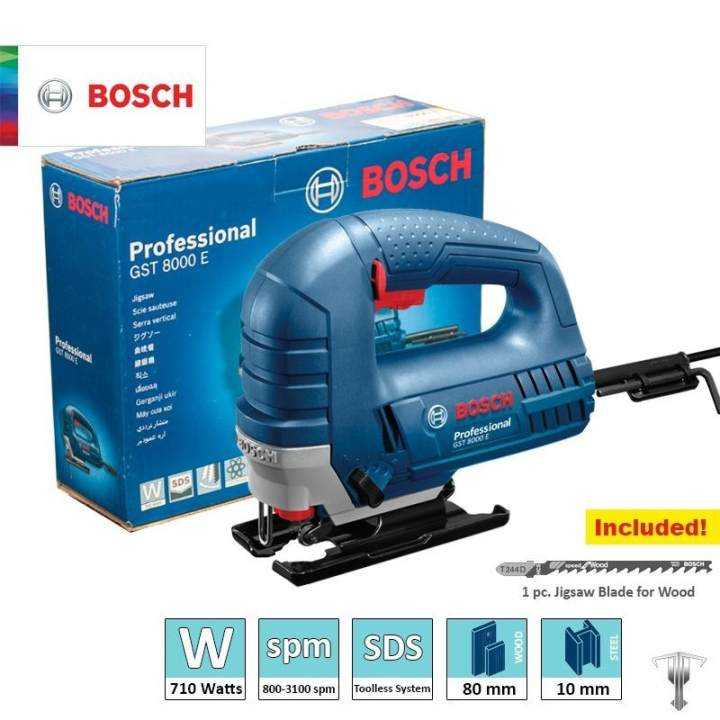 bosch gst   professional   jigsaw sds toolless blade change system power tool lazada ph