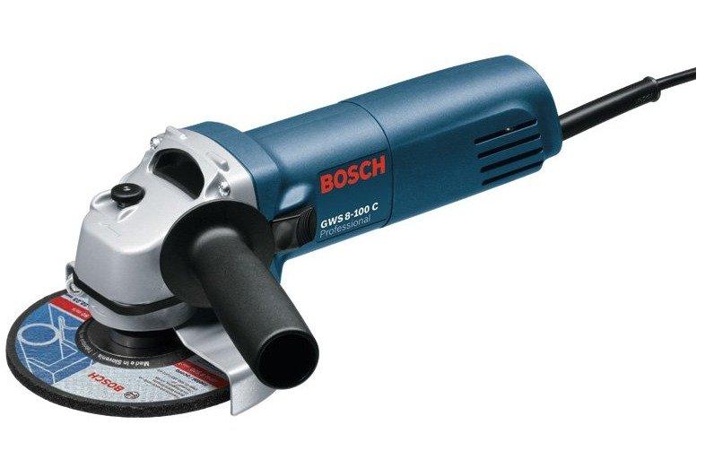 Bosch GWS 8-100 C Professional Grinder (Blue Green)