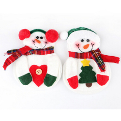 Buytra Christmas Home Decor Cutlery Holder 2Pcs