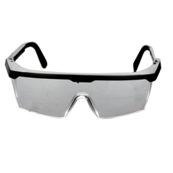 Buytra Clear Lens Goggles Glasses from Lab Dust Paint Lab (Black)