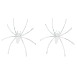 Buytra Halloween Decoration Noctilucent Spider 20pcs