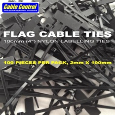 63231e05a7f6 Cable Control FLAG CABLE TIES, Flag Label Cable Tie, Cable Marker Tags.