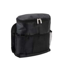 Car Seat Organizer with Cooler (Black)