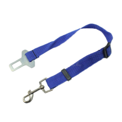 Car Vehicle Auto Seatbelt Lead For Pet (Blue)