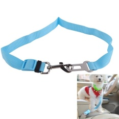Cat Dog Pet Safety Seatbelt Car Vehicle Seat Belt Adjustable Harness Lead - Intl By Top1a.