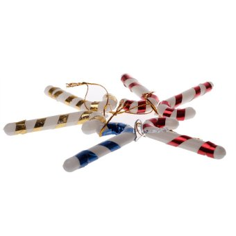 Christmas Candy Walking Stick 6 in 1 Pack - Intl