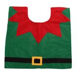 Christmas Decoration Santa Snowman Toilet Seat Cover - thumbnail 4
