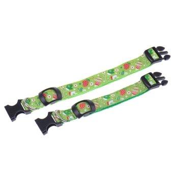 Christmas Sarung tangan Gloves kolars Kucing kolar kitten velvet bow tie safety elastic (Intl)