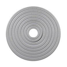 Circle Metal Cutting Dies Stencils Embossing Card Scrapbooking Album - intl