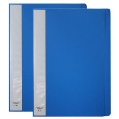 Clearbook None Refillable 30 Pages - Short Set of 2 - BLUE
