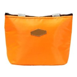 Cocotina Travel Picnic Tote Lunch Cooler Bag Orange