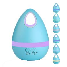 Cool Mist Humidifier - Gogerstar 200ML Portable Creative Eggs Humidifier Aroma Essential Oil Diffuser with 7