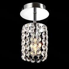 Outdoor lighting for sale outdoor lights prices brands review coromose urparcel crystal chandelier aisle lights modern minimalist small balcony single head led 110v size aloadofball Image collections