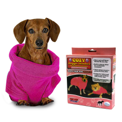 Cozy Doggie Small Pet Blanket (Pink)