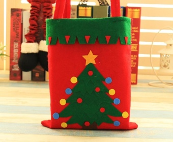 Creative Personalized Christmas Festival Party Toys Cloth Gift Craft Bag 42*41cm Christmas Santa Hot Sale - intl