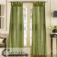 Curtain Essentials Chimalis Sea Green Single Panel