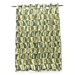 Curtain Gallery Ontario Curtains Set of 2 (Green)