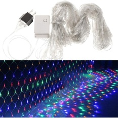 cyber clearance sale 2m 144 lights string mesh net lights for party wedding christmas coffee