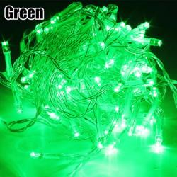 DAN DAN Mabuhay Star 80 Led Bright and Vivid Colors String Lights/ Christmas Lights (Green)