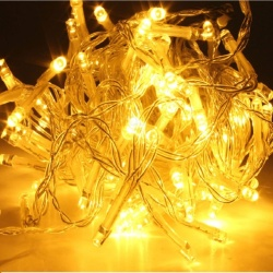 DAN DAN Mabuhay Star 80 Led Bright and Vivid Colors String Lights/ Christmas Lights  (Yellow)