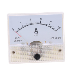 DC0-10A Analog Current Panel Meter Tester Ammeter Gauge.