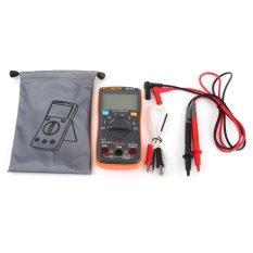 Digital Multimeter AC/DC Voltmeter Ammeter Temperature Ohm Meter LCD Display 6000 Counts - intl