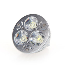 Dimmable 9W MR16 White Light Spotlight Lamp Bulb 12-24V