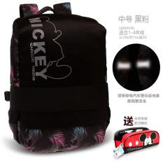 7d8f66b70f Disney Schoolbag for Elementary School Students Children man 1-3-4 Girls One