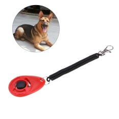 Dog Clickers with Wrist Straps and Buttons Convenient Effective Training Tools for Your Dog or Puppy