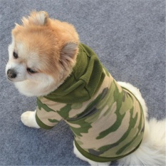 Dog Pet Clothes Hoodie Warm Sweater Puppy Coat Apparel - intl